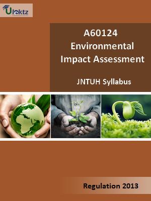 Environmental Impact Assessment - Syllabus
