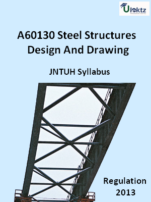 Steel Structures Design And Drawing - Syllabus