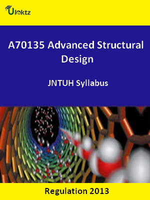 Advanced Structural Design - Syllabus