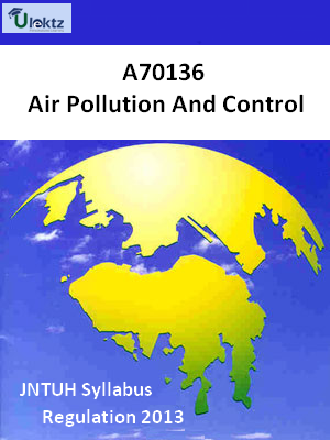 Air Pollution And Control - Syllabus