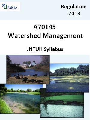 Watershed Management - Syllabus