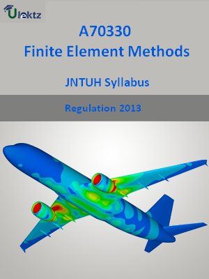 Finite Element Methods  - Syllabus
