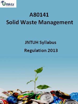 Solid Waste Management - Syllabus