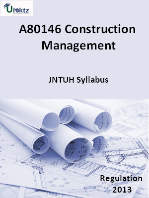 Construction Management - Syllabus