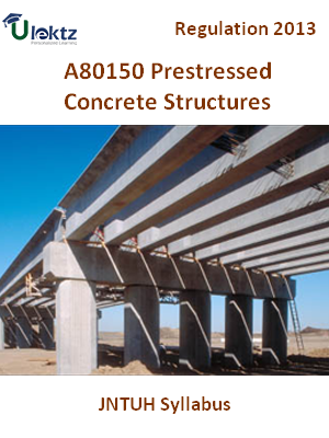 Prestressed Concrete Structures - Syllabus