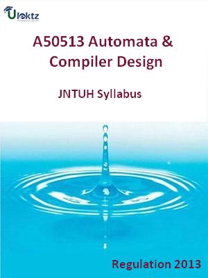Automata And Compiler Design - Syllabus