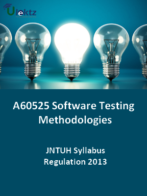 Software Testing Methodologies - Syllabus