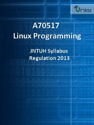 Linux Programming - Syllabus