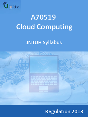 Cloud Computing - Syllabus