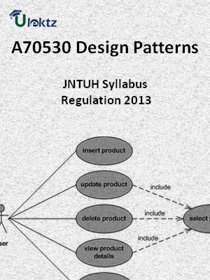 Design Patterns - Syllabus