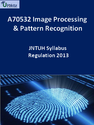 Image Processing And Pattern Recognition - Syllabus