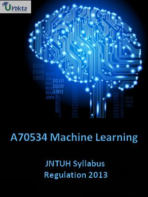 Machine Learning - Syllabus