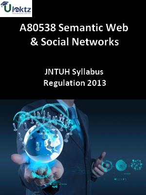 Semantic Web And Social Networks - Syllabus