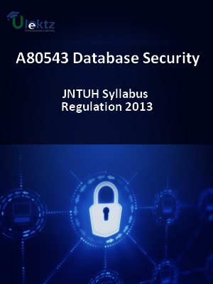 Database Security - Syllabus