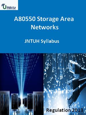 Storage Area Networks - Syllabus