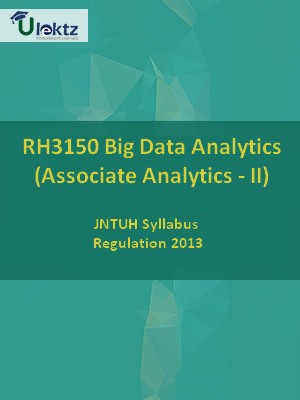 Big Data Analytics (Associate Analytics - II) - Syllabus