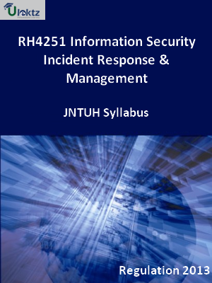 Information Security Incident Response & Management - Syllabus