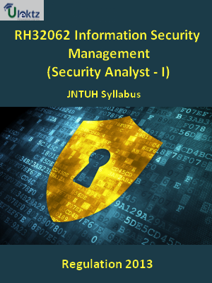 Information Security Management (Security Analyst - I) - Syllabus