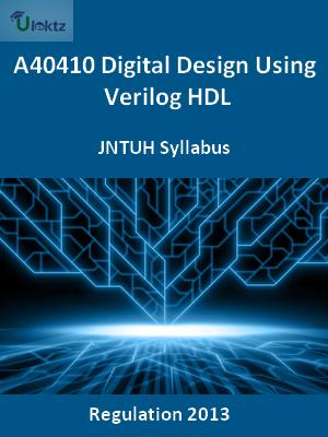 Digital Design Using Verilog HDL - Syllabus