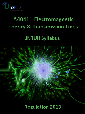 Electromagnetic Theory And Transmission Lines - Syllabus