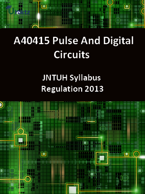 Pulse And Digital Circuits - Syllabus