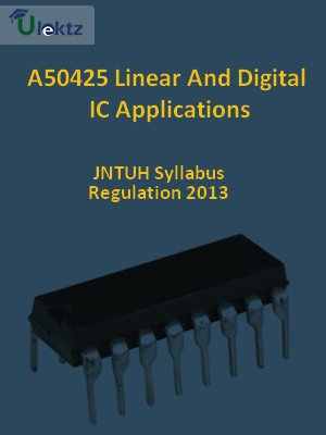 Linear And Digital IC Applications - Syllabus