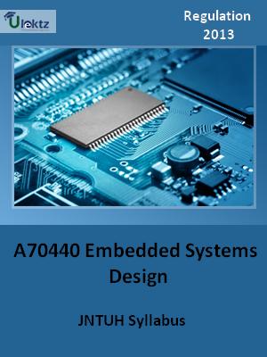 Embedded Systems Design - Syllabus