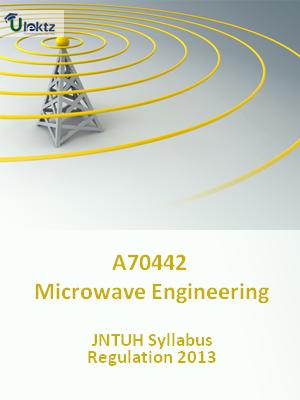 Microwave Engineering - Syllabus