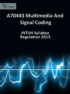 Multimedia And Signal Coding - Syllabus
