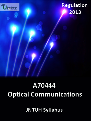 Optical Communications - Syllabus