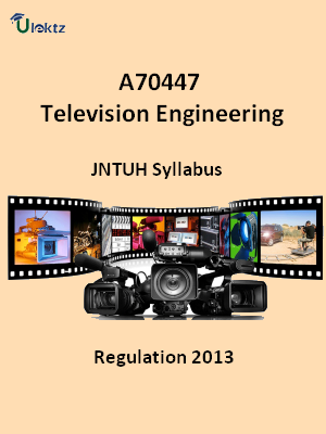 Television Engineering - Syllabus