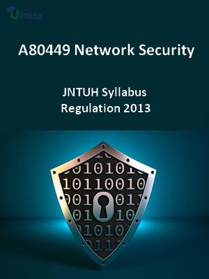 Network Security - Syllabus