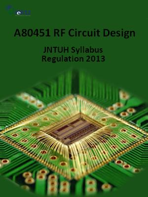 RF Circuit Design - Syllabus