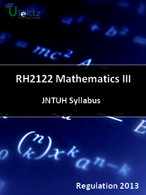 Mathematics - III - Syllabus