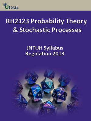 Probability Theory And Stochastic Processes - Syllabus