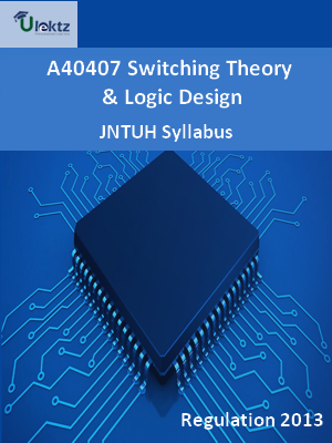 Switching Theory And Logic Design - Syllabus