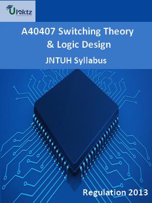 Switching Theory And Logic Design - Syllabus