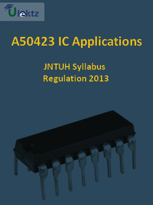 IC Applications - Syllabus