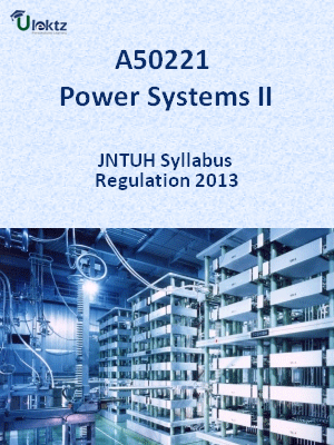 Power Systems-II - Syllabus