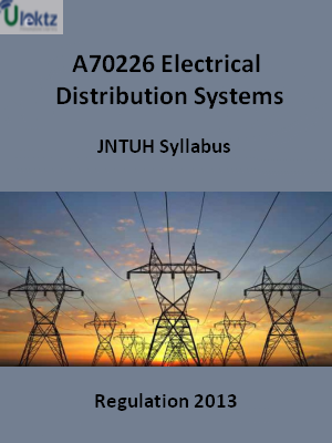 Electrical Distribution Systems - Syllabus