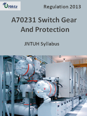 Switch Gear And Protection - Syllabus