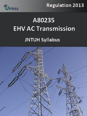 EHV AC Transmission - Syllabus