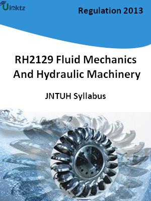 Fluid Mechanics And Hydraulic Machinery - Syllabus