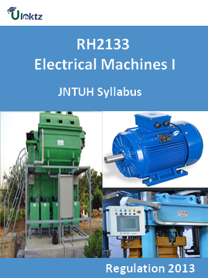 Electrical Machines - I - Syllabus