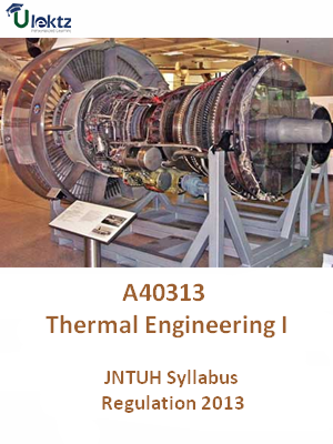 Thermal Engineering - I - Syllabus