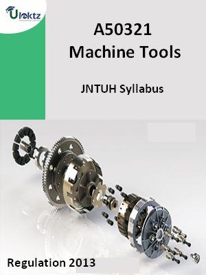 Machine Tools - Syllabus