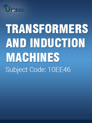 Transformers And Induction Machines