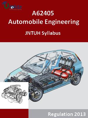 Automobile Engineering - Syllabus