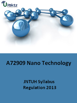 Nano Technology - Syllabus