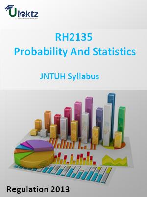 Probability And Statistics -Syllabus